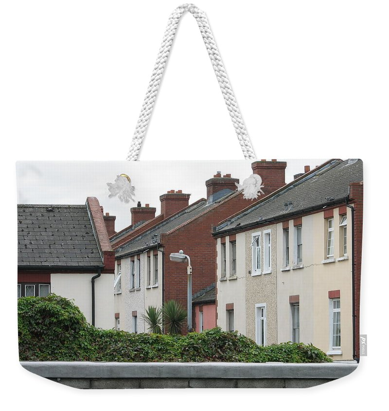 Dublin Weekender Tote Bag featuring the photograph Dublin by Kelly Mezzapelle
