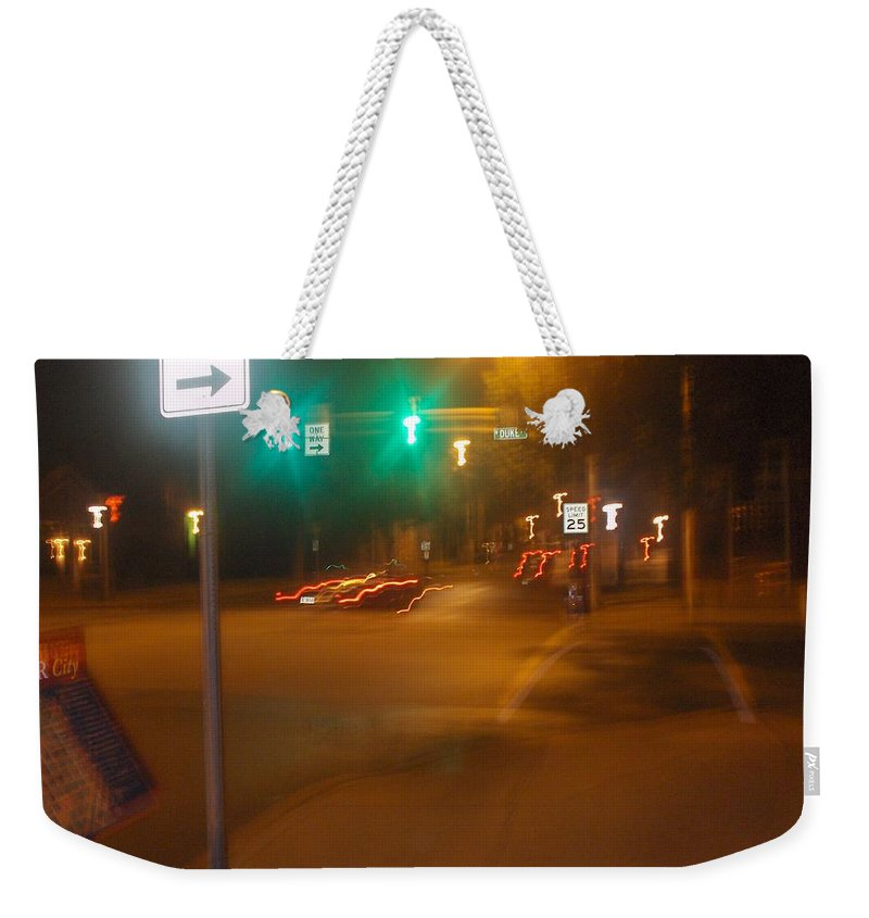 Photograph Weekender Tote Bag featuring the photograph Duke And Chestnut by Thomas Valentine
