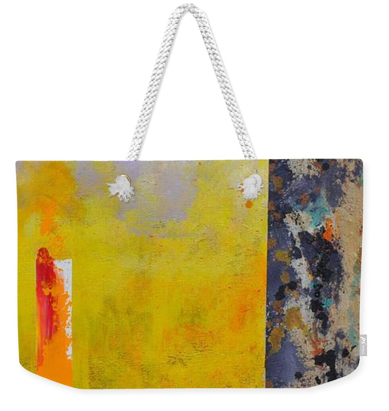 Acrylics Weekender Tote Bag featuring the painting Dune by Eduard Meinema