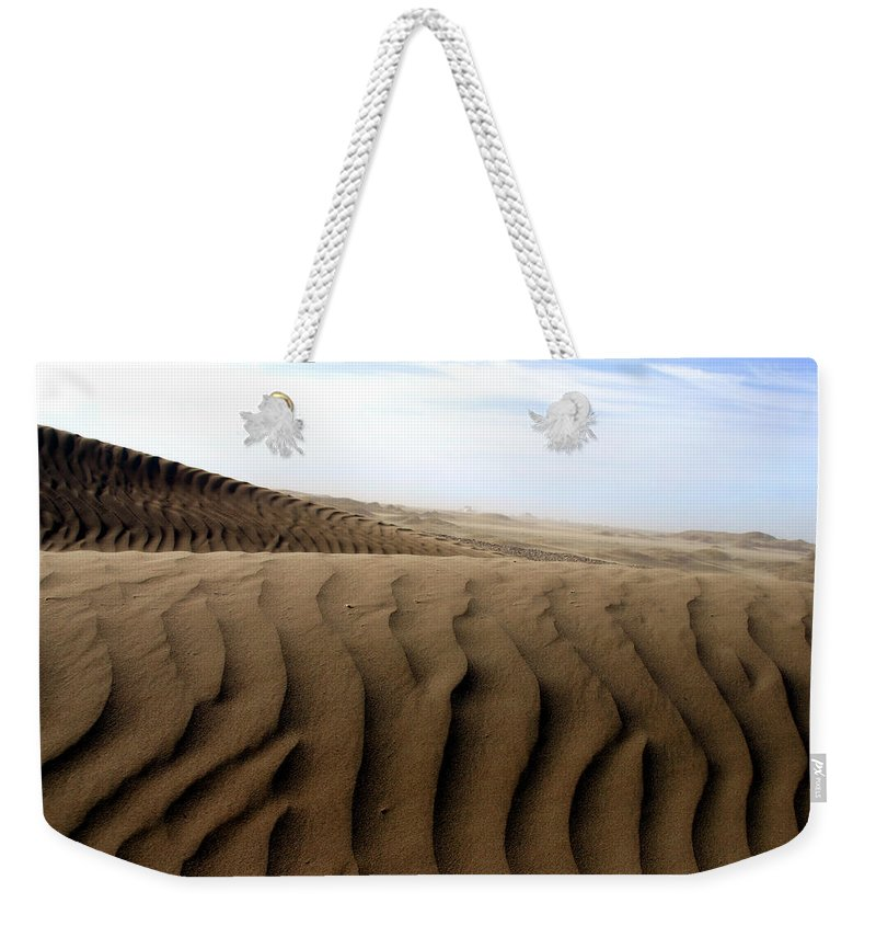 Sand Dunes Weekender Tote Bag featuring the photograph Dunes Of Alaska by Anthony Jones
