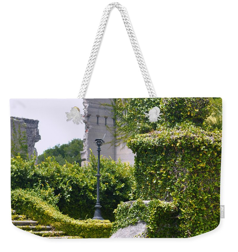 Dungeness Weekender Tote Bag featuring the photograph Dungeness Ruins by Debra White