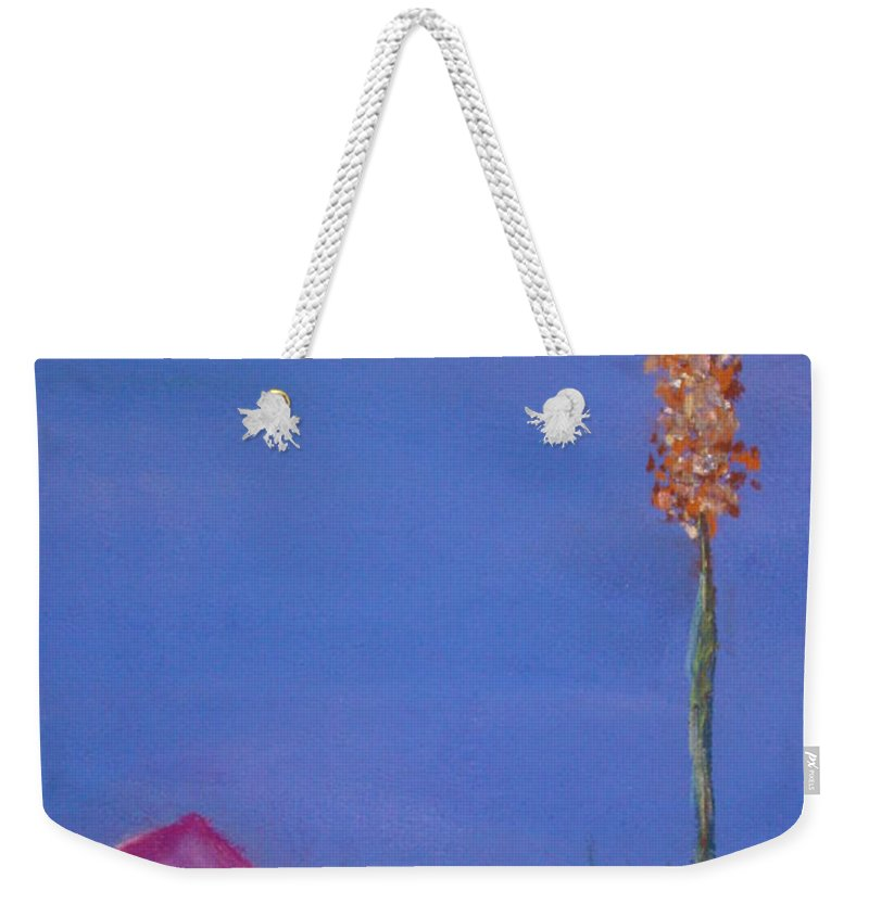 Evening Weekender Tote Bag featuring the painting Dusk by Melinda Etzold
