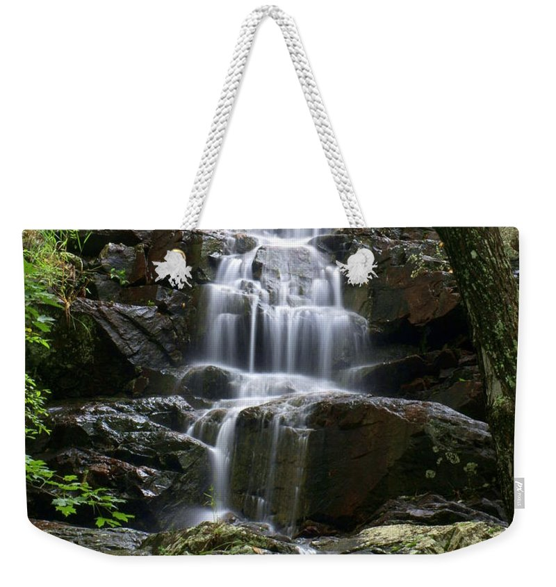 Waterfalls Weekender Tote Bag featuring the photograph E Falls by Marty Koch