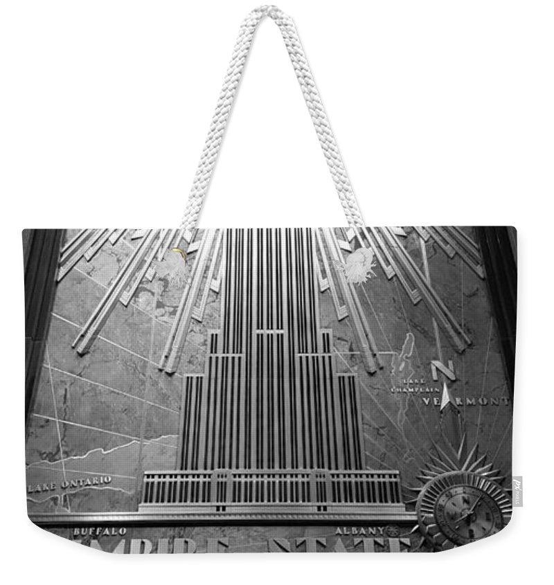 Architecture Weekender Tote Bag featuring the photograph E S B W by Rob Hans