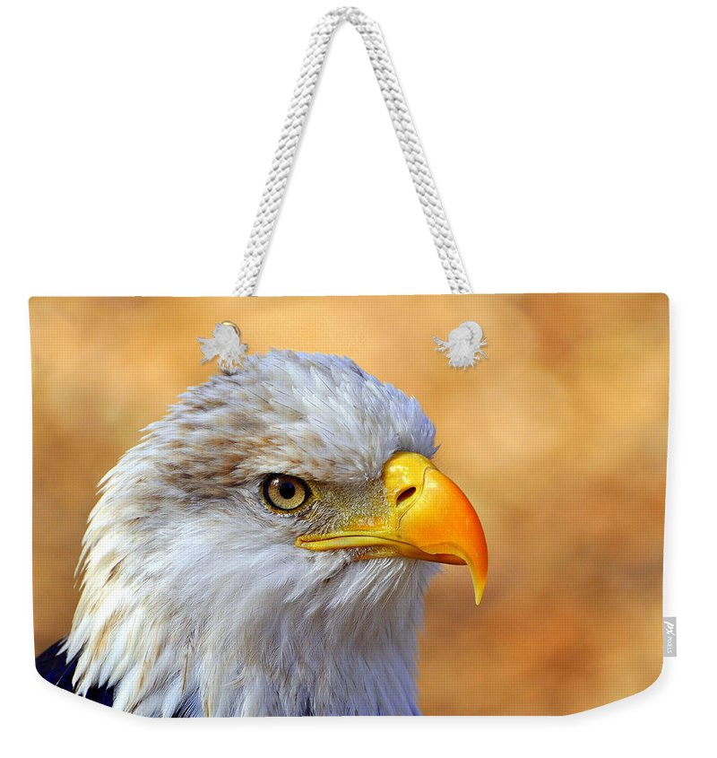 Eagle Weekender Tote Bag featuring the photograph Eagle 7 by Marty Koch