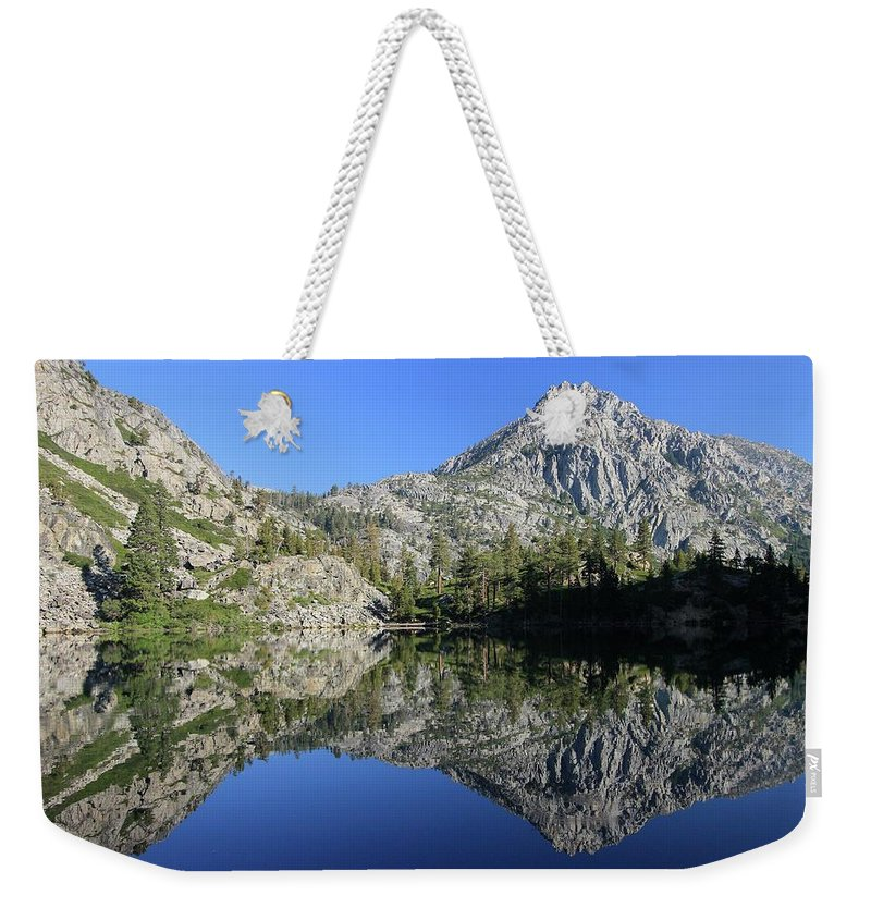 Lake Tahoe Weekender Tote Bag featuring the photograph Eagle Lake Wilderness by Sean Sarsfield