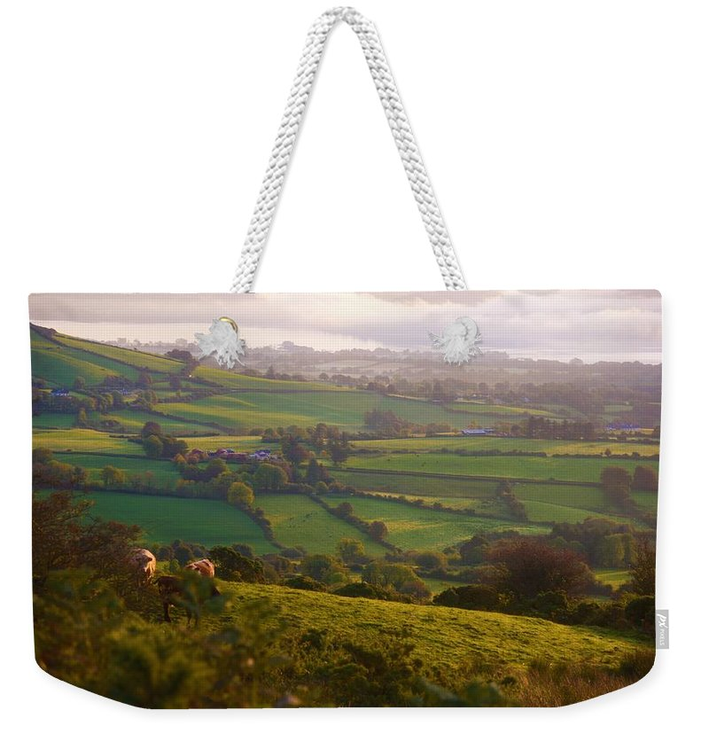 Landscape Weekender Tote Bag featuring the photograph Early Morning Glory by Johnny Griffin