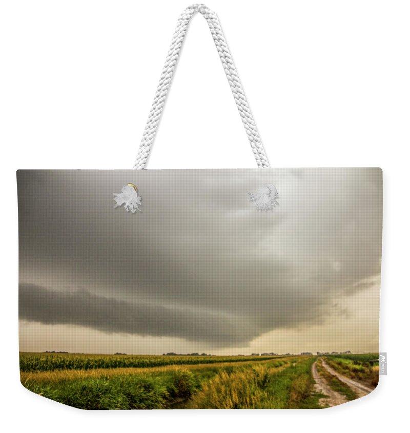 Nebraskasc Weekender Tote Bag featuring the photograph Early Morning Nebraska Storm Chasing 016 by NebraskaSC