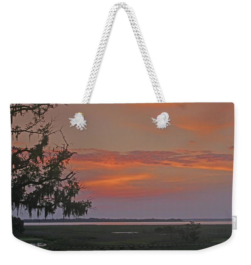 Clouds Weekender Tote Bag featuring the photograph Early Morning by Phill Doherty