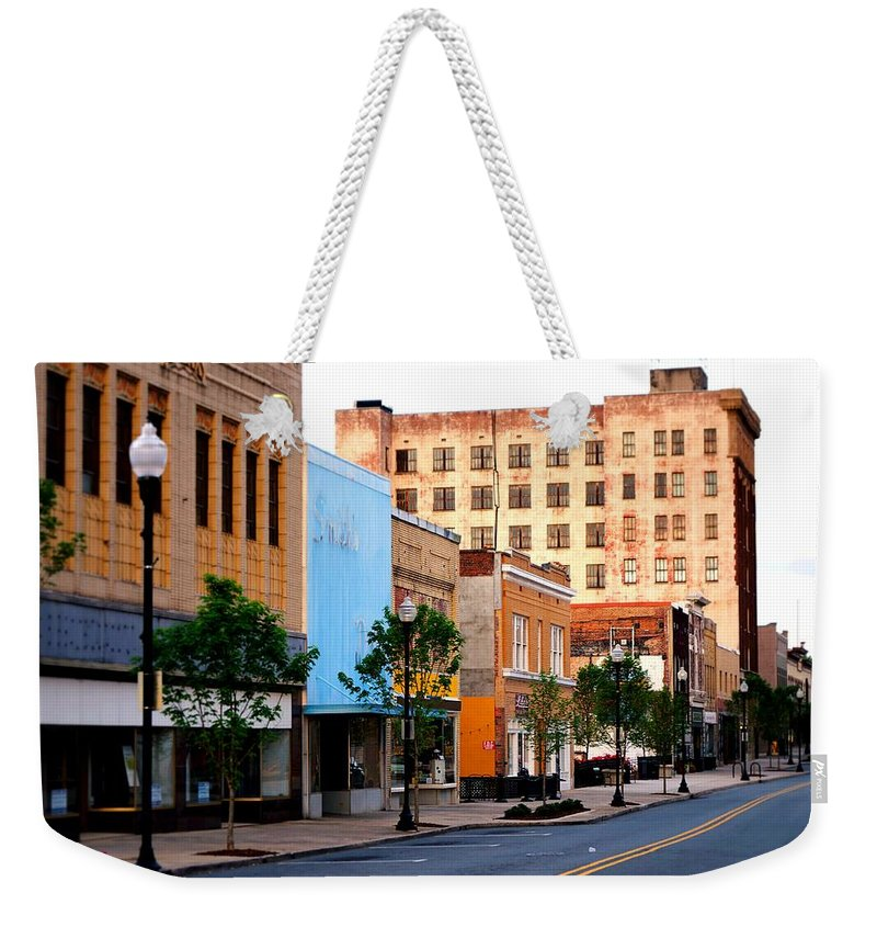 Fine Art Weekender Tote Bag featuring the photograph Early Rise by Rodney Lee Williams