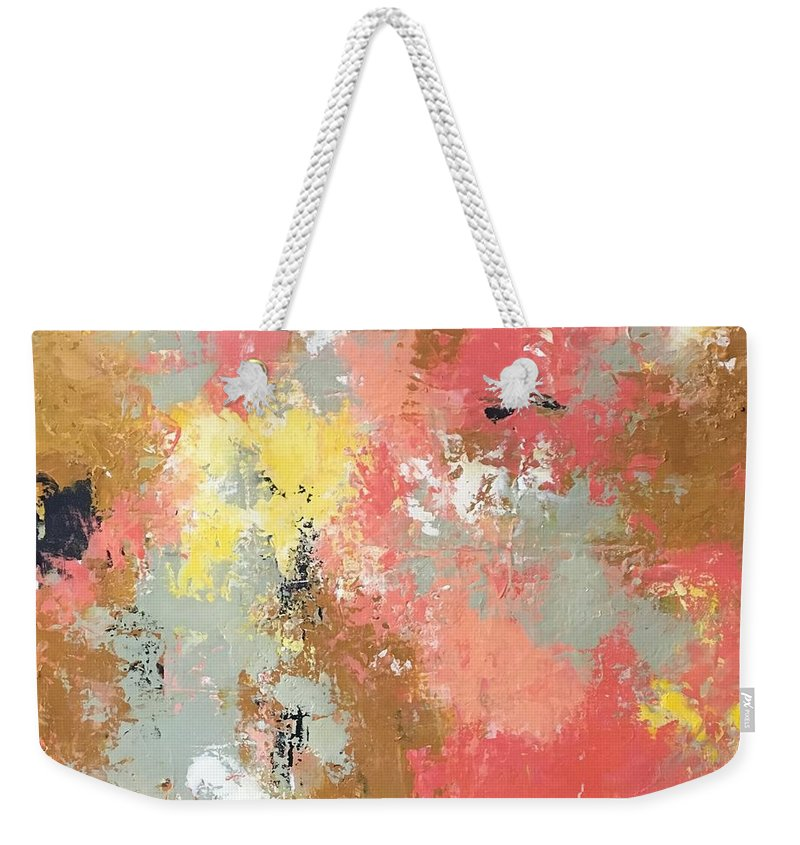 Weekender Tote Bag featuring the painting Early Spring by Suzzanna Frank