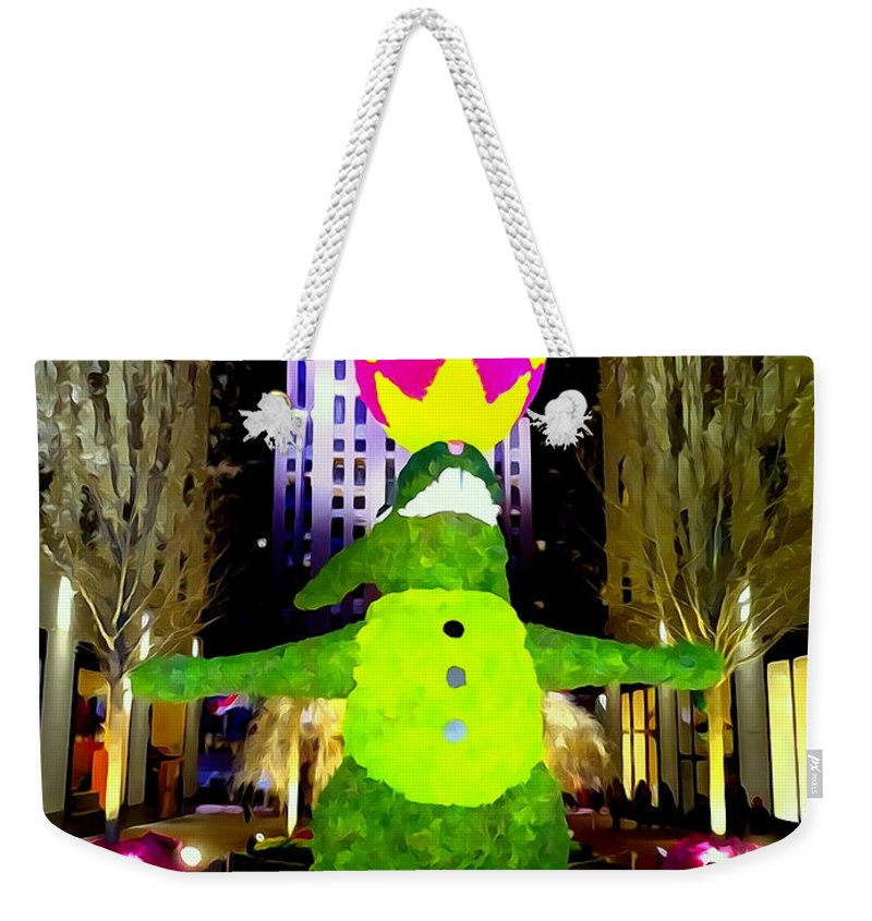 Digital Art Weekender Tote Bag featuring the photograph Easter Abstract by Ed Weidman