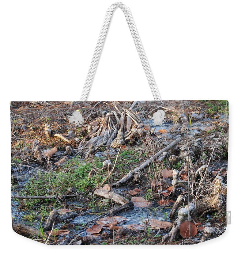 River Weekender Tote Bag featuring the photograph Ebb And Flow by Rob Hans