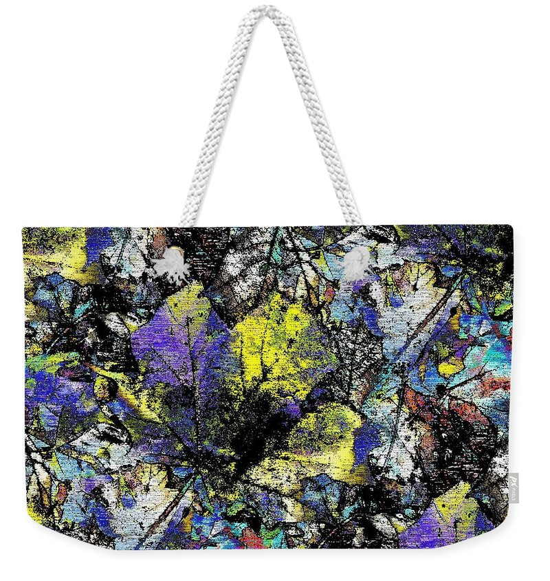 Autumn Weekender Tote Bag featuring the digital art Echoes Of Autumn by Tim Allen