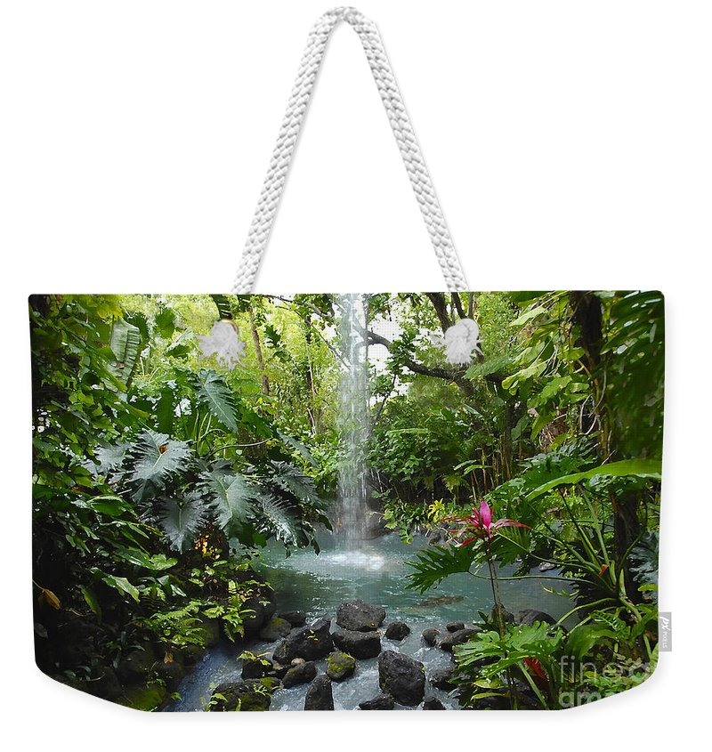 Garden Of Eden Weekender Tote Bag featuring the photograph Eden by David Lee Thompson