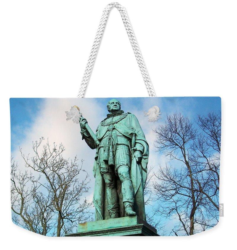 Scotland Weekender Tote Bag featuring the photograph Edinburgh Trees by Munir Alawi