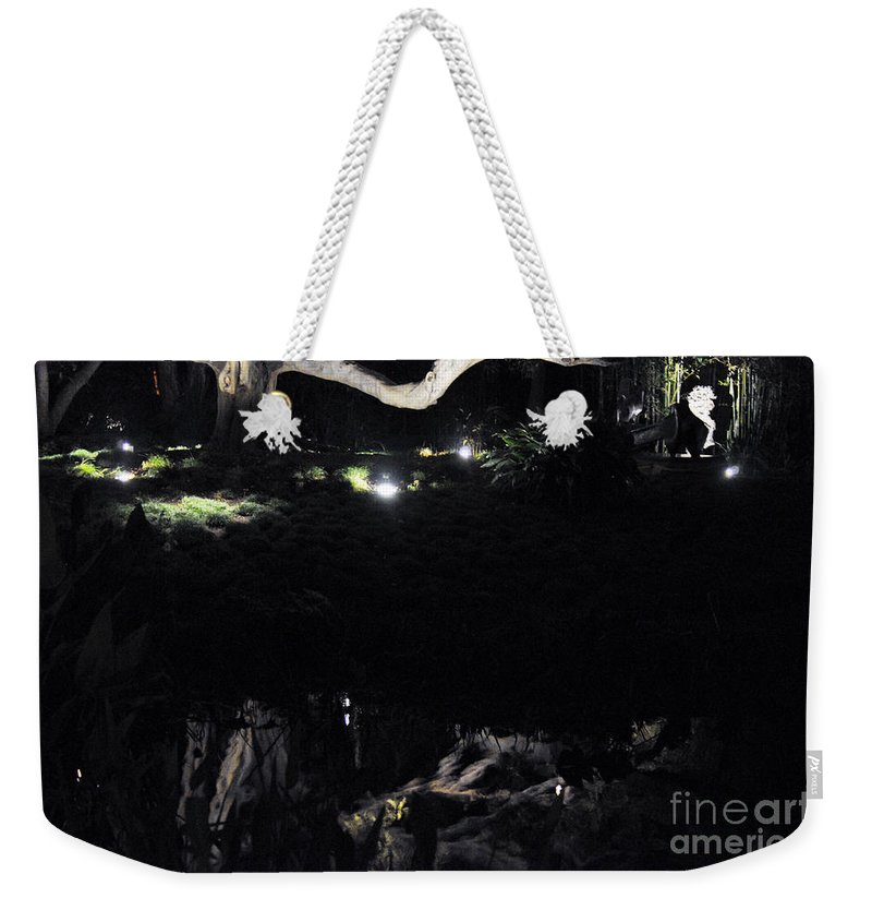 Clay Weekender Tote Bag featuring the photograph Eery Reflections by Clayton Bruster