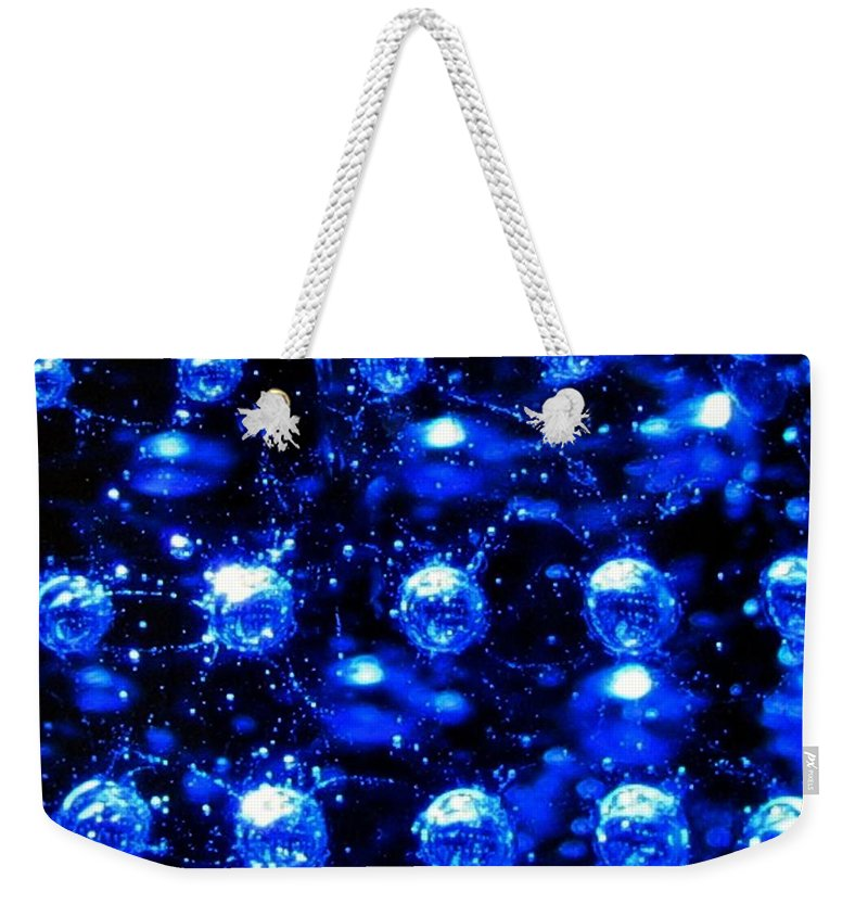 Effervescent Weekender Tote Bag featuring the digital art Effervescent by Will Borden
