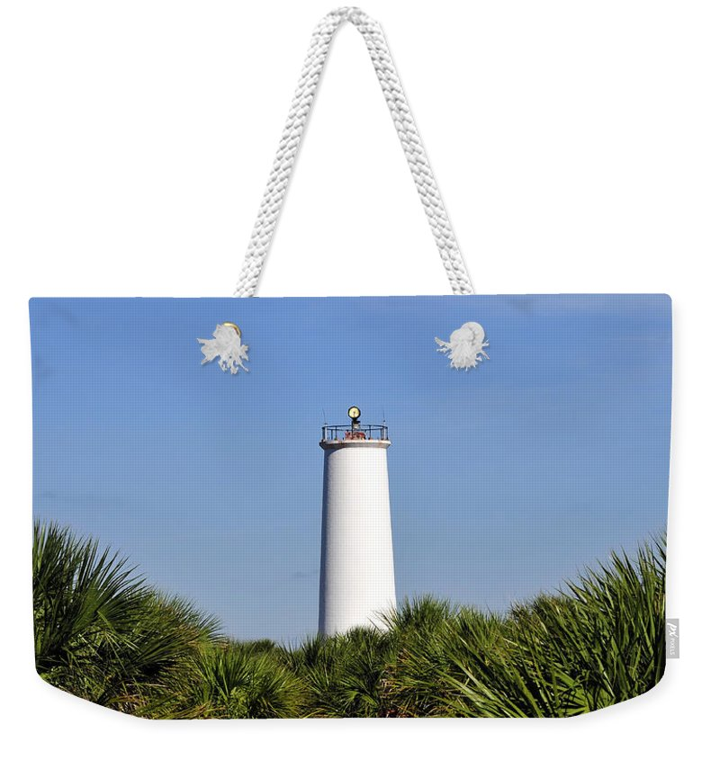 Fine Art Photography Weekender Tote Bag featuring the photograph Egmont Key Florida by David Lee Thompson