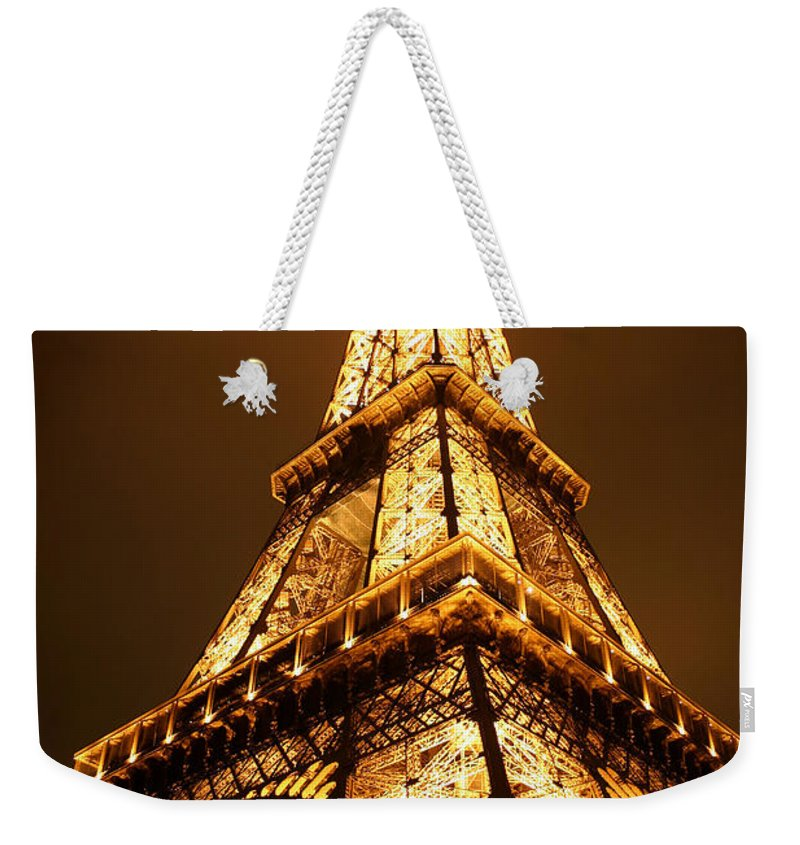 Eiffel Weekender Tote Bag featuring the photograph Eiffel by Skip Hunt