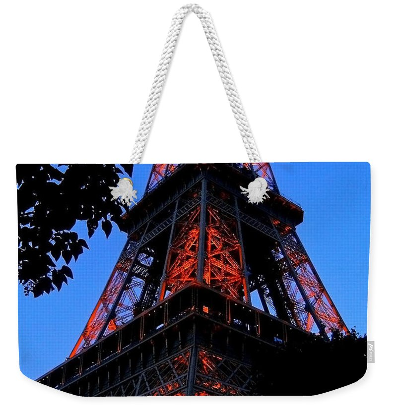 Europe Weekender Tote Bag featuring the photograph Eiffel Tower by Juergen Weiss