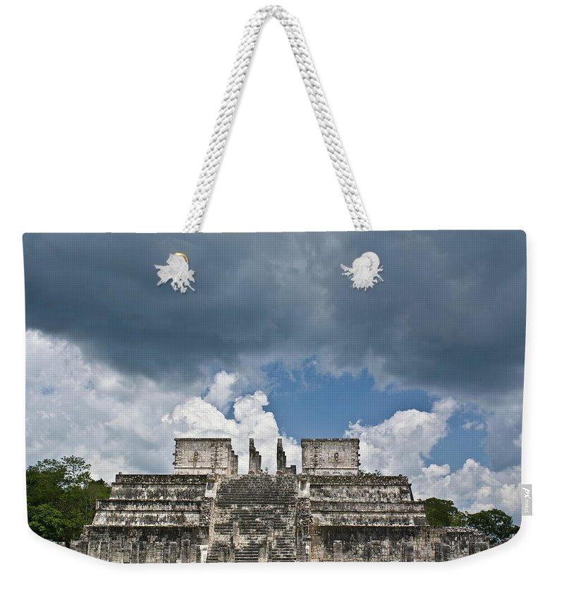 El Templo De Las Columnas Weekender Tote Bag featuring the photograph El Templo De Las Columnas 1 by Douglas Barnett