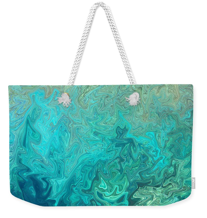Seascape Weekender Tote Bag featuring the photograph Electric by Athala Carole Bruckner