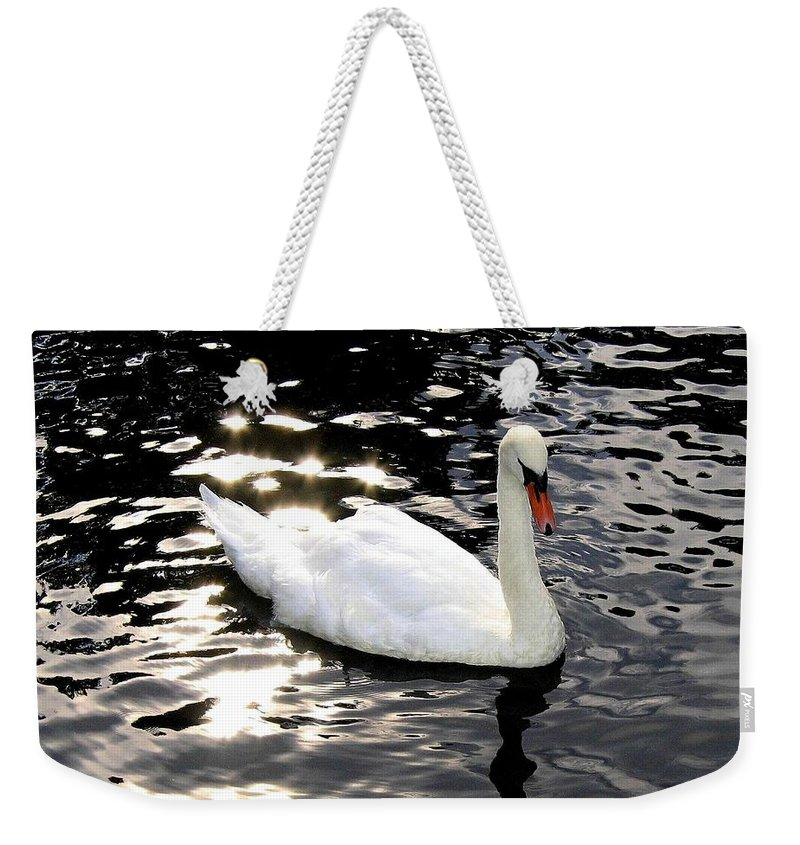 Sun Rays Weekender Tote Bag featuring the photograph Electric Waters by Will Borden