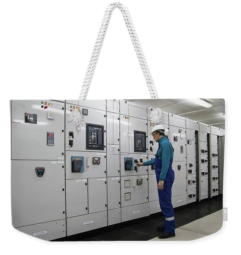 Electrical Panel Board Manufacturers Weekender Tote Bag featuring the digital art Electrical Panel Board Manufacturers by Sonu Kumar