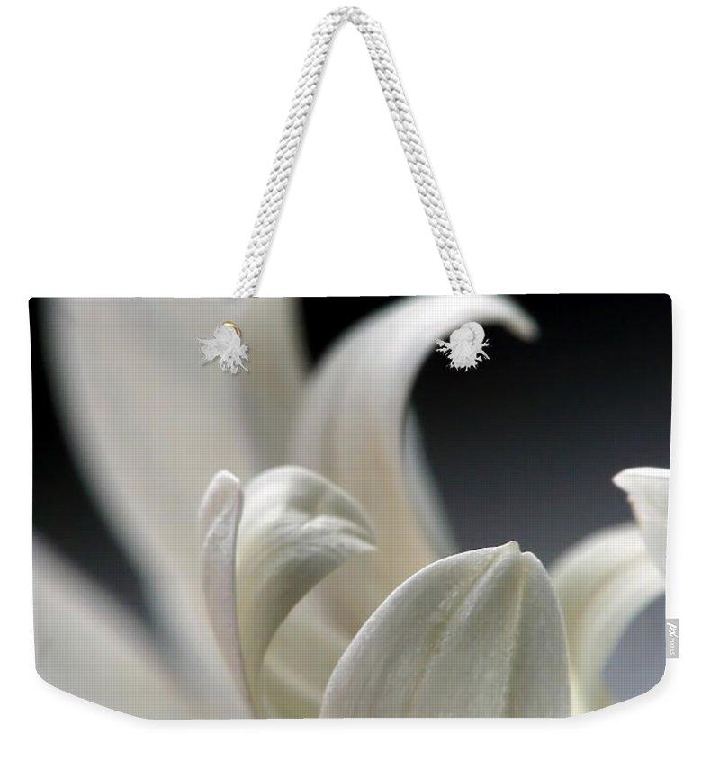 Lauren Radke Weekender Tote Bag featuring the photograph Elegance by Lauren Radke