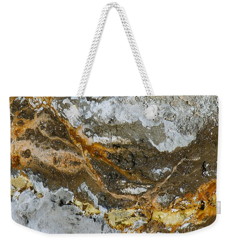 Elements Weekender Tote Bag featuring the photograph Elements by Diane Greco-Lesser