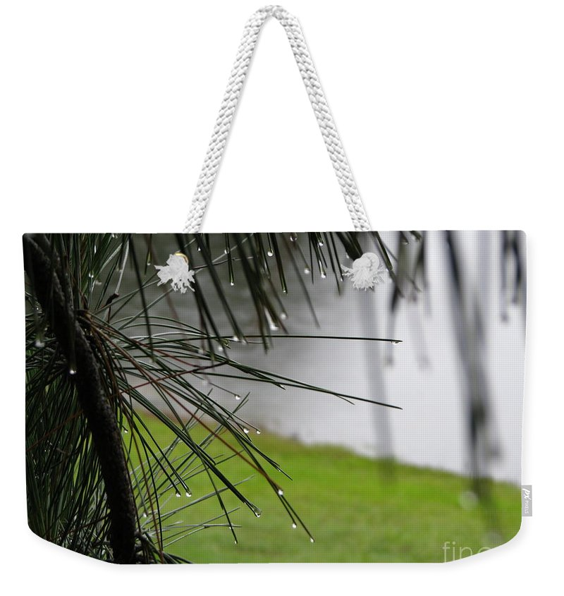 Lakes Weekender Tote Bag featuring the photograph Elements by Greg Patzer