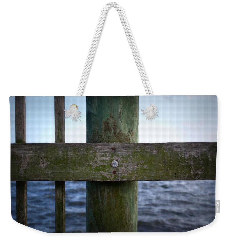 Wood Weekender Tote Bag featuring the photograph Elements by Mandy Shupp