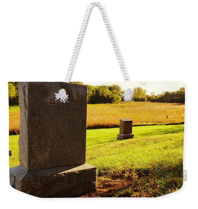 Nature Weekender Tote Bag featuring the photograph Ella Wood 1875 by Kyle West