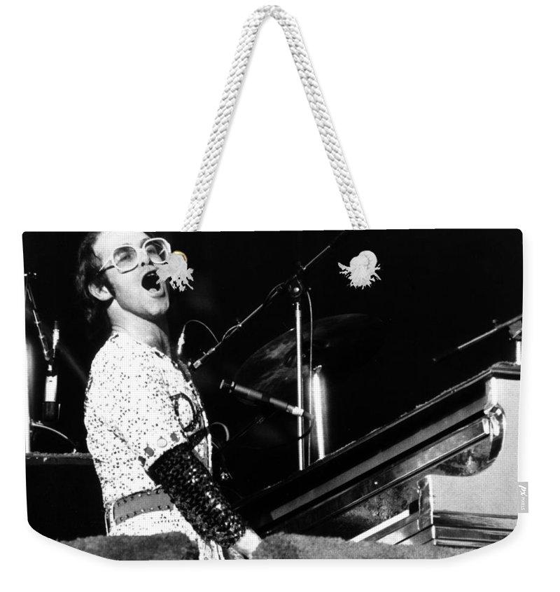 Elton John Weekender Tote Bags