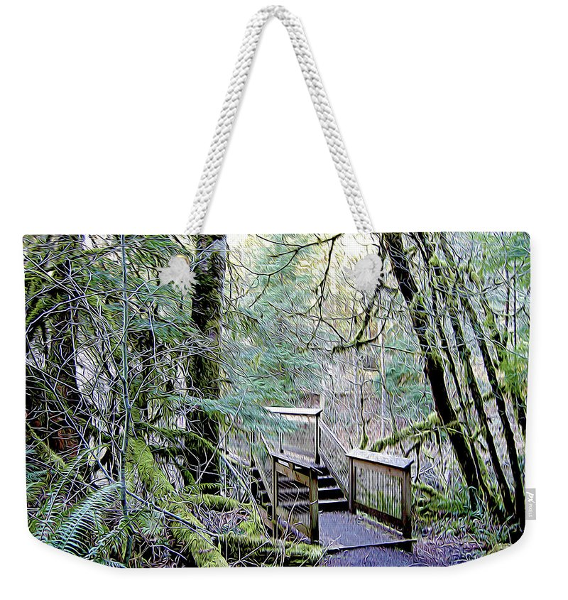 Nature Weekender Tote Bag featuring the photograph Embark by Linda Carruth