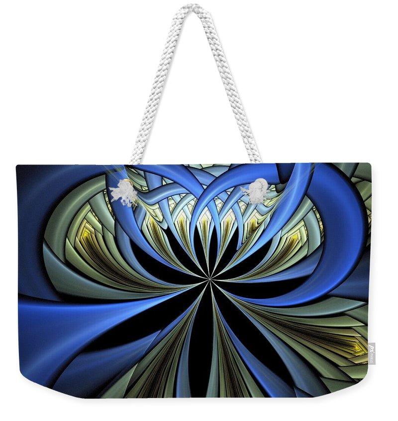 Digital Art Weekender Tote Bag featuring the digital art Embedded by Amanda Moore