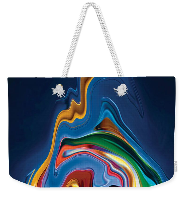 Weekender Tote Bag featuring the digital art Embrace by Rabi Khan