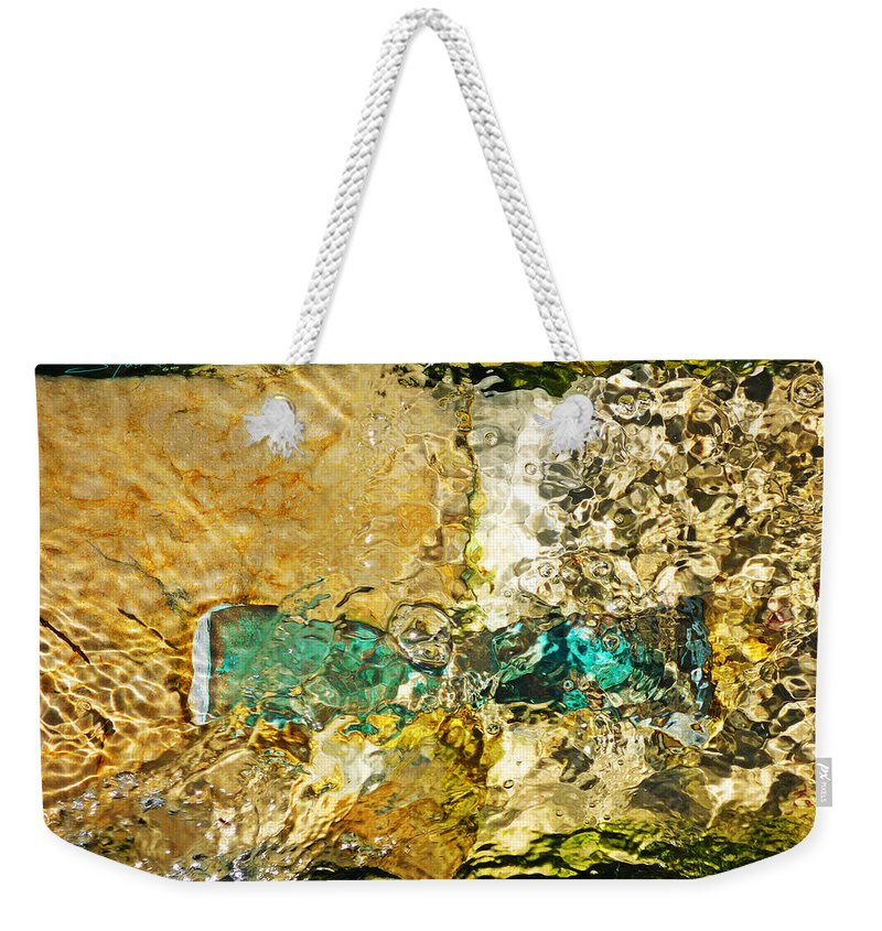 Ocean Weekender Tote Bag featuring the photograph Emerald Bow by Charles Stuart