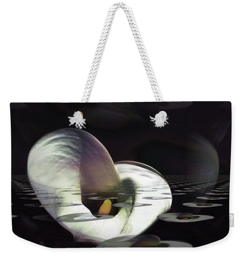 Landscape Weekender Tote Bag featuring the photograph Emergence by Mykel Davis
