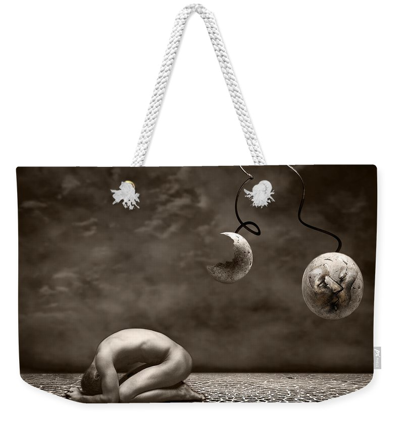 Surreal Weekender Tote Bag featuring the photograph Emptiness by Jacky Gerritsen