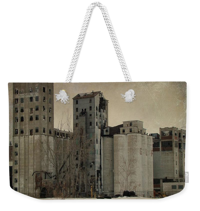 Empty Building Weekender Tote Bag featuring the photograph Empty Windows by Gothicrow Images
