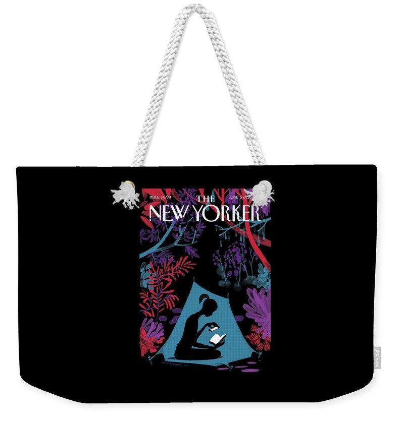 Enchanted Forest Weekender Tote Bag