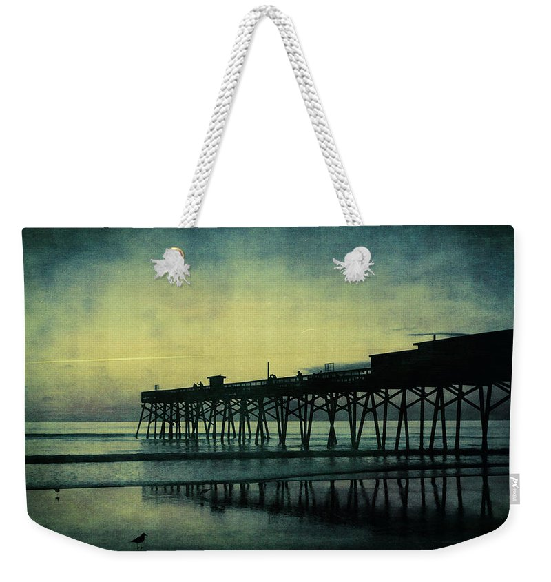 Alicegipsonphotographs Weekender Tote Bag featuring the photograph End To The Day by Alice Gipson