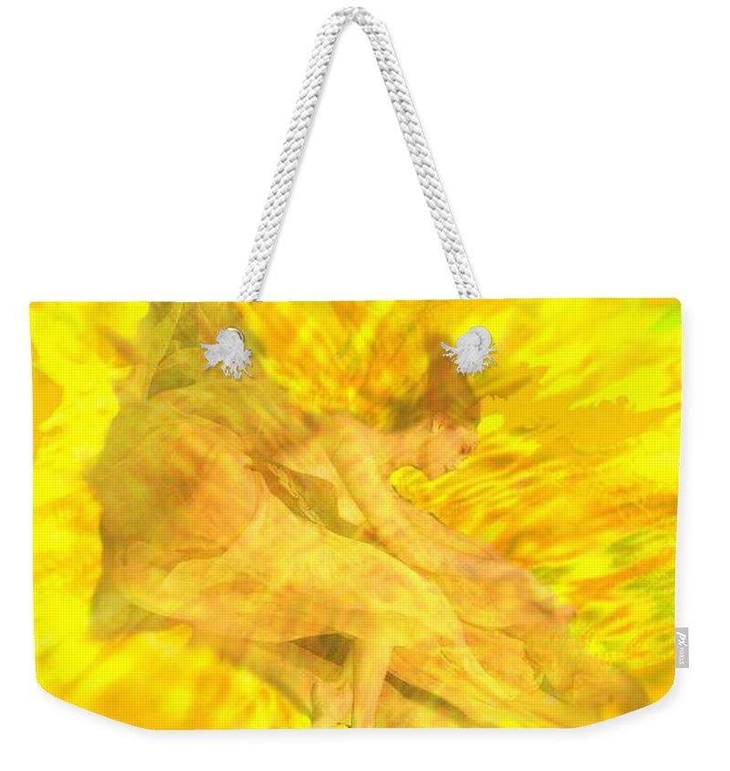 Joy Weekender Tote Bag featuring the digital art Endless Joy by Seth Weaver
