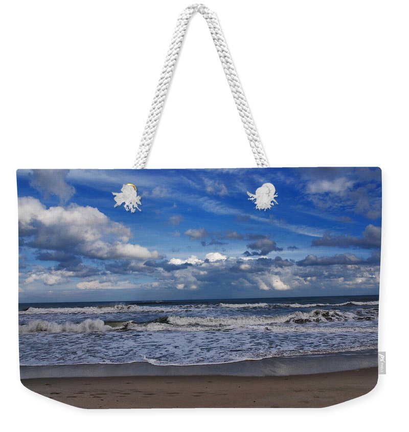 Ocean Weekender Tote Bag featuring the photograph Endless Ocean by Susanne Van Hulst
