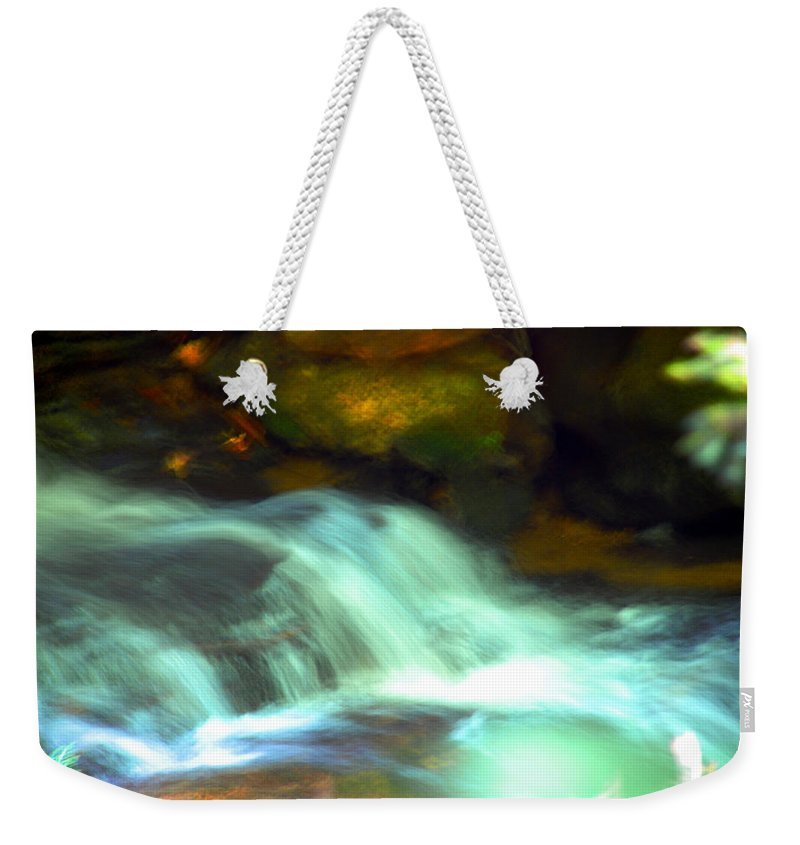 Photography Weekender Tote Bag featuring the photograph Endless Water by Susanne Van Hulst