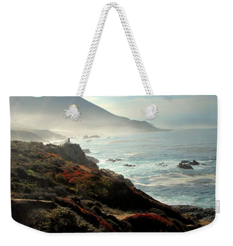 The-gift Weekender Tote Bag featuring the photograph Enjoying The Gift by Joyce Dickens