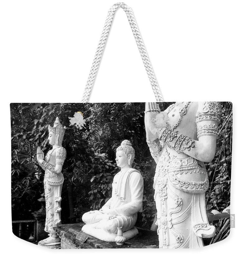 Buddha Weekender Tote Bag featuring the photograph Enlightened One by Dominic Piperata