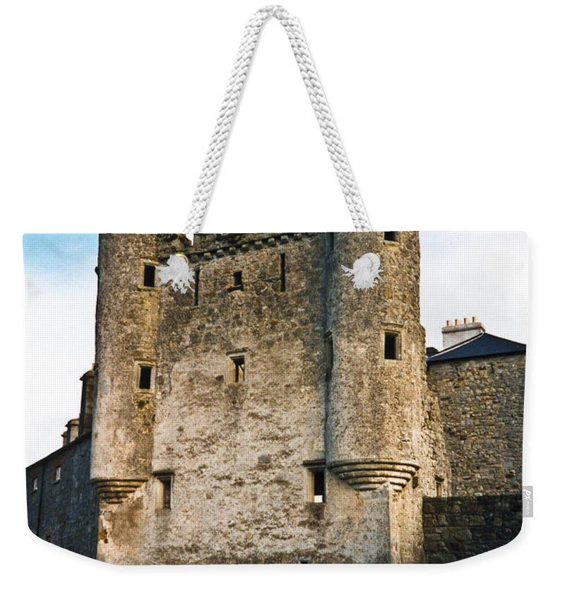 Castle Weekender Tote Bag featuring the photograph Enniskillen Castle Northern Ireland by Douglas Barnett